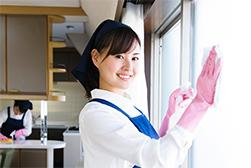 窓拭き清掃